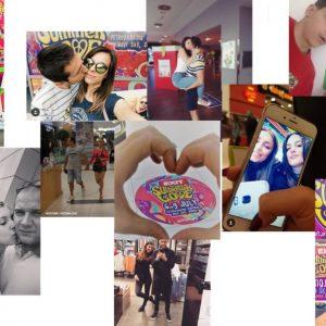 """Skopje City Mall ги одбра 10те најкреативни фотографии кои учествуваа во играта """"Сподели љубов во Skopje City Mall и биди дел од EXIT Лето на љубовта!"""""""