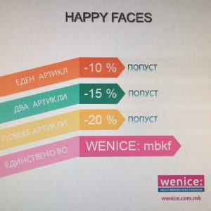 Акција Happy Faces во #Wenice