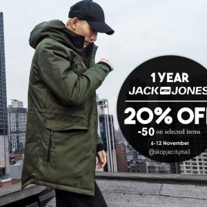 Спреми се за прослава | 1иот роденден на Јack&Jones во Скопје Сити Мол
