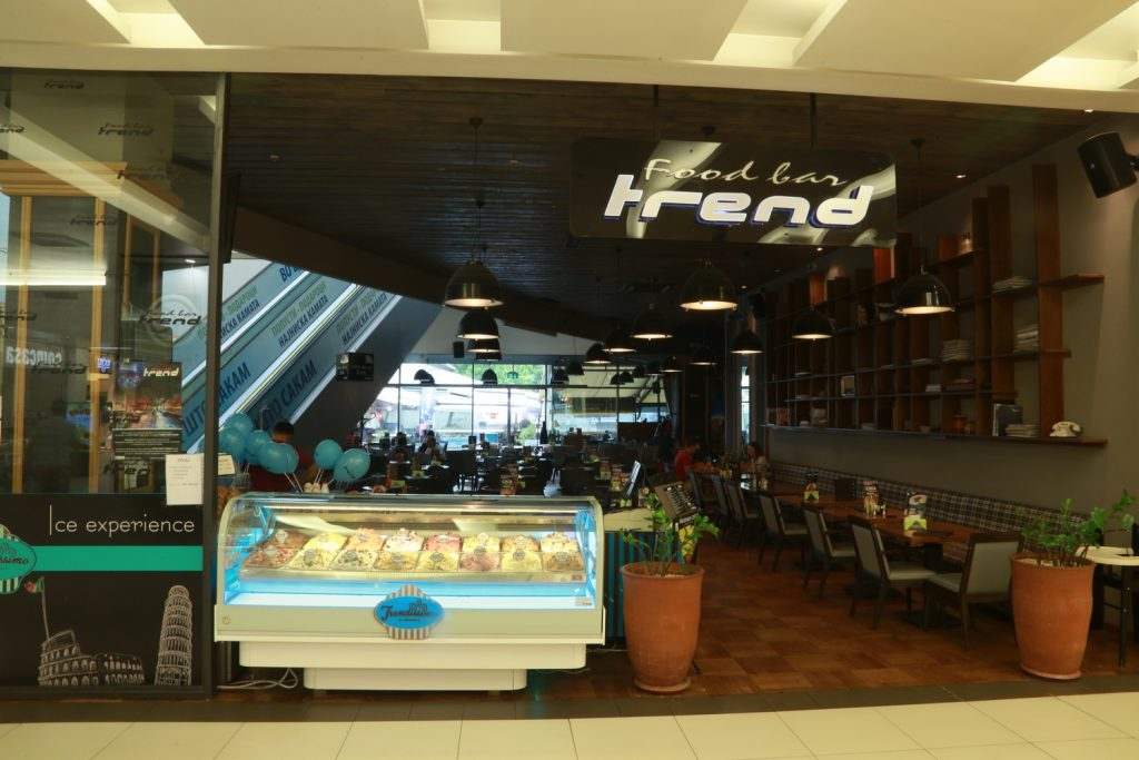 trend food bar skopje city mall