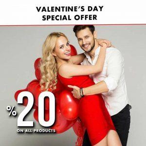 Специјална понуда за Денот на вљубените Тудорс ❤️