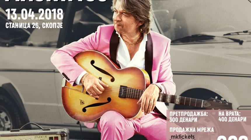 Концерт на MAGNIFICO во Скопје!