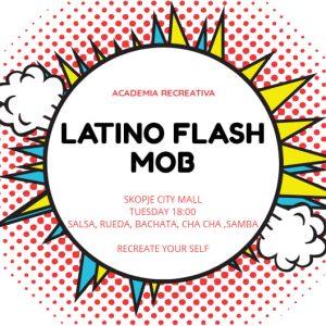 Денес Ве покануваме на Latino Flash Mob
