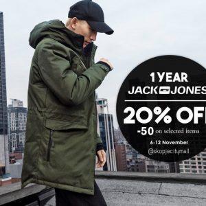 Спреми се за прослава   1иот роденден на Јack&Jones во Скопје Сити Мол
