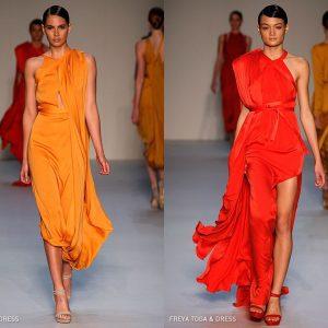 Еден од најголемите летни трендови се боите на зајдисонцето или поточно портокаловата