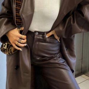 Најубавите кожни панталони кои можете да ги купите за оваа сезона